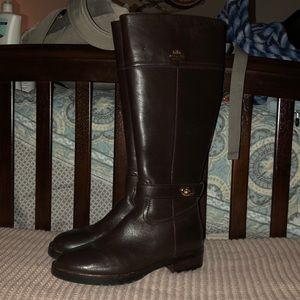 Coach Eva/Sutton Leather Knee boots